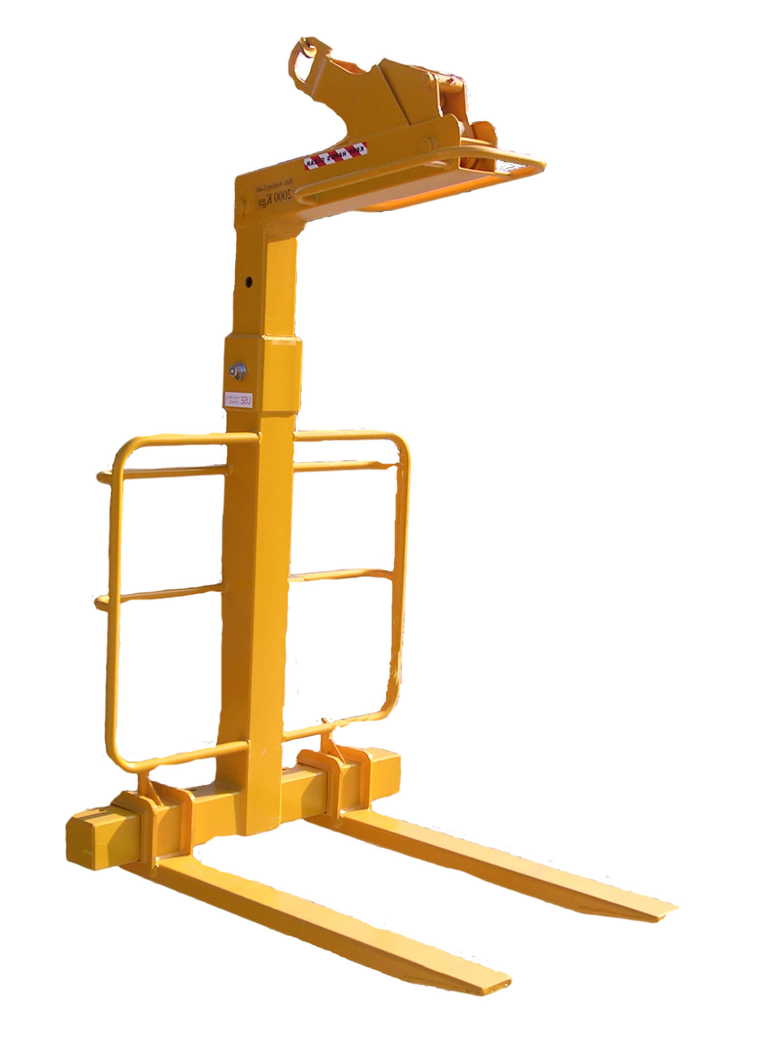Forklift Lifting Attachments : Jd lifting fork mounted attachments